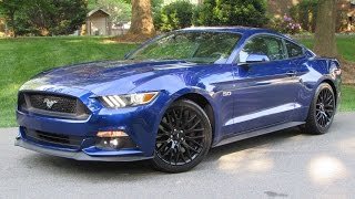 2015 Ford Mustang GT Fastback (6-Spd Performance Package) Start Up, Road Test, and In Depth Review