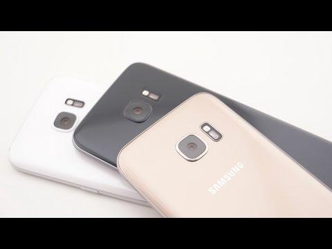 Samsung Galaxy S7/edge - die Farben im Vergleich