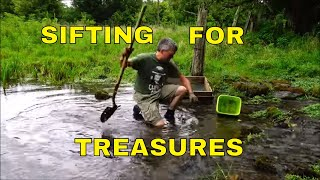 Sifting Sand And Water For Cold Spring Treasures