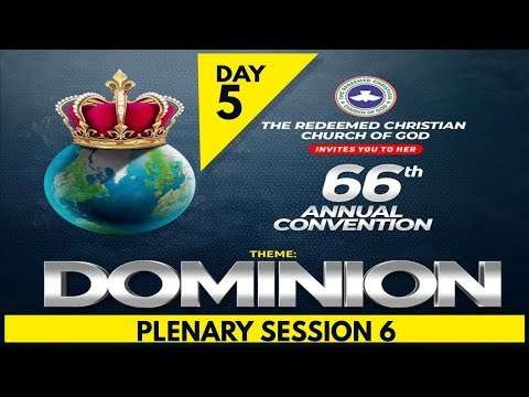 RCCG 2018 HOLY GHOST CONVENTION_#Day5