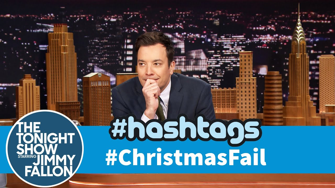 Hashtags: #ChristmasFail thumbnail