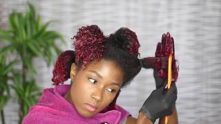 How I dye my natural hair at home no bleach featuring Sally Beauty Supply
