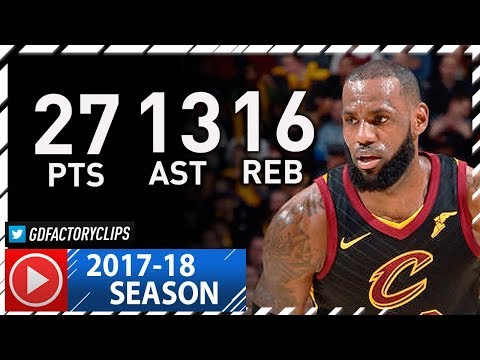 LeBron James CRAZY Triple-Double Full Highlights vs Hornets (2017.11.24) - 27 Pts, 16 Reb, 13 Ast!