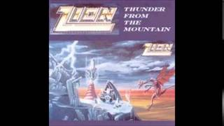 "zion ""is it a crime? "" thunder from the mountain-1989"