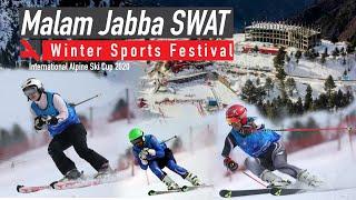 Malam Jabba SWAT International Alpine Ski Cup 2020   Ski Resort   PAKISTAN