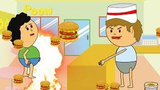 【アニメ】こんなハンバーガーショップはいやだ!Part 2   Kholo.pk