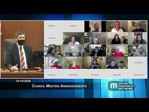 , title : '12/15/20 Metro Council Announcements & Meeting