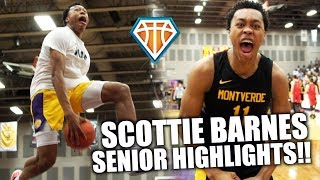 SCOTTIE BARNES IS A RARE BREED OF HOOPER!! | 6'8 Point Forward's SENIOR HIGHLIGHTS