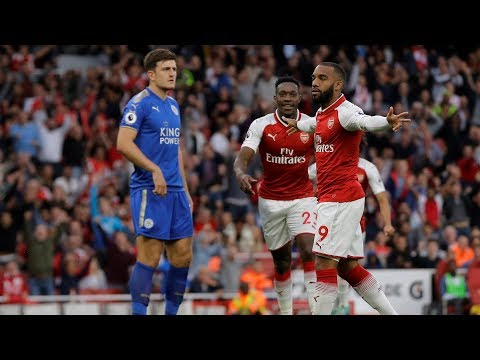 Arsenal v. Leicester City   PREMIER LEAGUE MATCH HIGHLIGHTS   NBC Sports