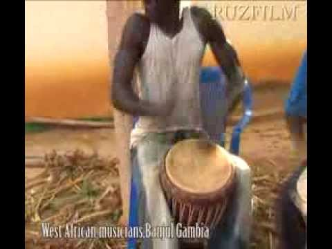 West African folk music