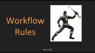 Salesforce: Learn Workflow Rules in Just 10 min