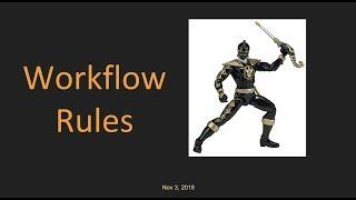 Salesforce: Learn Workflow Rules in Just 10 min