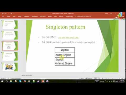 VD13 - Singleton Pattern - Part 1