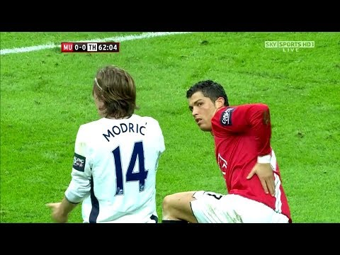 When Cristiano Ronaldo and Luka Modric met for the first time HD