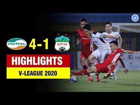 Highlights Viettel 4-1 HAGL | Khắc Ngọc ghi bàn từ gần chấm phạt góc - Xuân Trường kiến tạo IQ3000