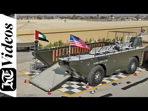 World's largest 4x4 arrives in UAE