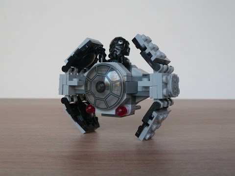 Vidéo LEGO Star Wars 75128 : TIE Advanced Prototype