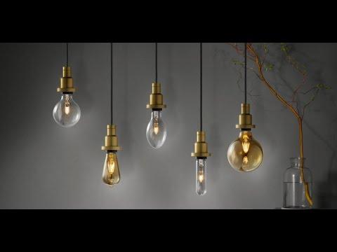 Vintage Edition 1906: Retro-Lampen und -Leuchten
