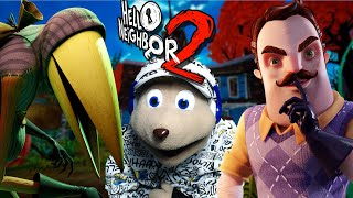 THE NEIGHBOR AND HIS GUEST REALLY HATES CHIPMUNKS || HELLO NEIGHBOR 2 (ALPHA 1 ENDING)