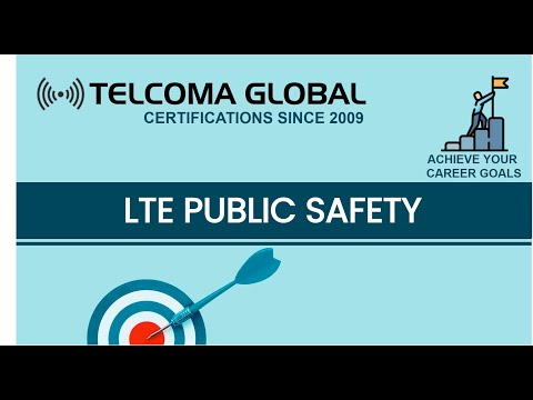 LTE PS : LTE for Public Safety Training course by TELCOMA ...