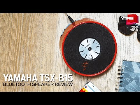 Yamaha TSX-B15  Bluetooth Speaker Review | M&S Tech & Toys | M&S VMAG
