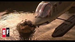 Crocodile vs. Helicopter - Lake Placid (1999)