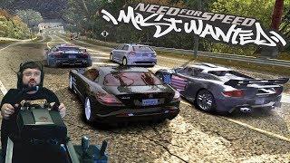 Напряженная борьба в гонках Рэйзора и лучшее сокращение в Need for Speed: Most Wanted