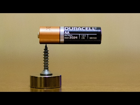 Download Magic tricks with magnets - Part 1 - Homopolar motor HD Mp4 3GP Video and MP3