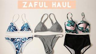 Spring Break Bikini Try-on Haul | Zaful Review