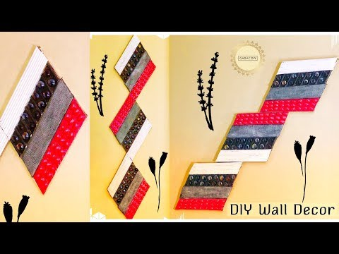 Diy wall hanging crafts crafts with recycled materials paper crafts ...