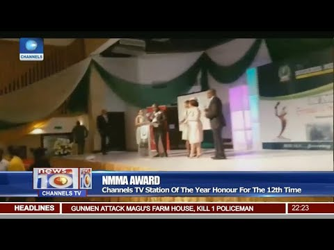 Channels Television Emerges TV Station Of The Year For 12th Time Pt 2   News@10  