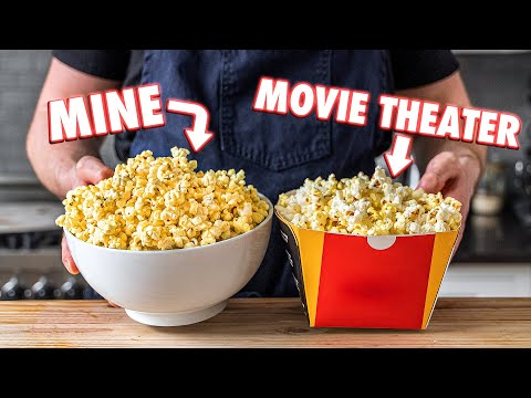 Just Like in the Movies! 3 Yummy Homemade Popcorn ideas