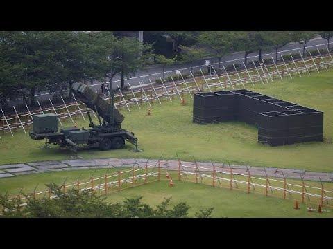 Αντιπυραυλικά συστήματα στη δυτική Ιαπωνία