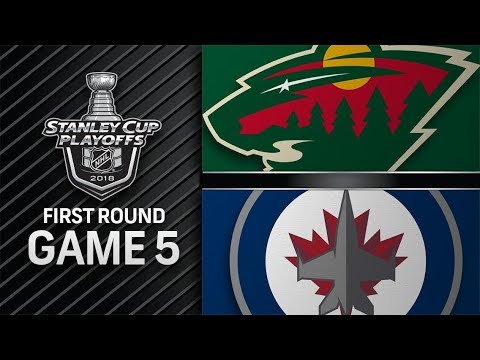 Minnesota Wild vs Winnipeg Jets – Apr. 20, 2018 | Game 5 | Stanley Cup 2018. Обзор