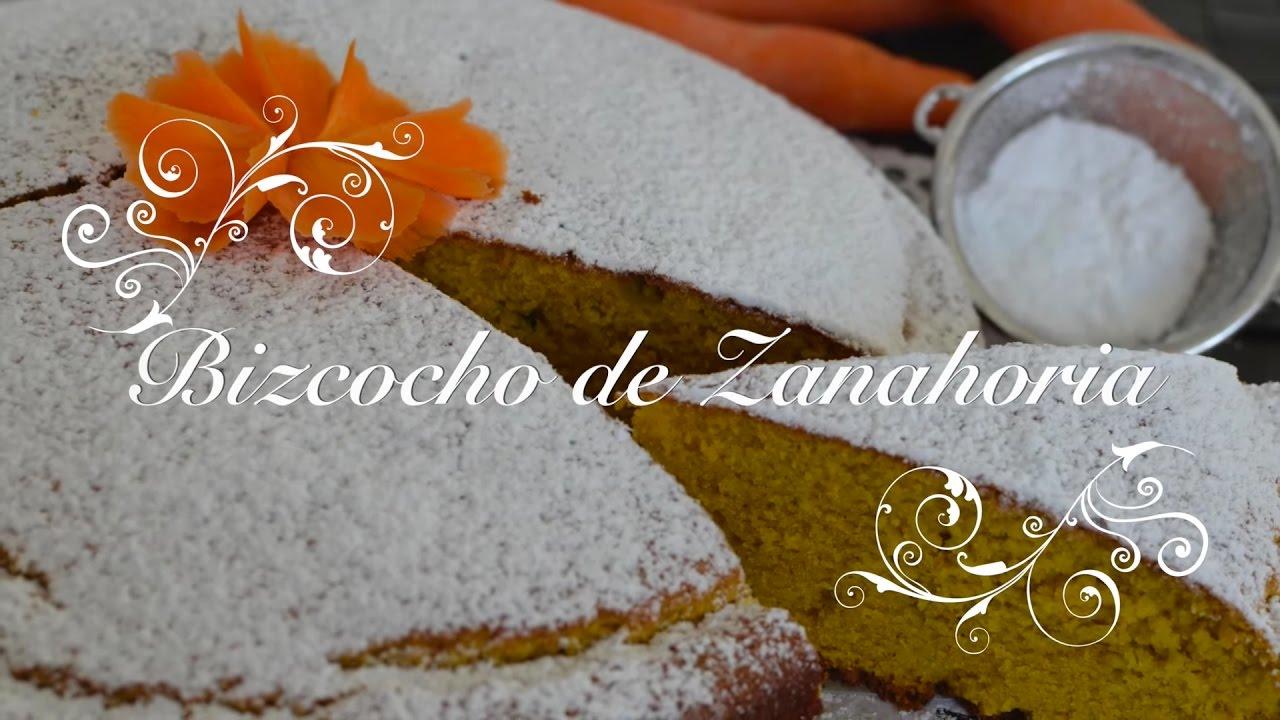 Bizcocho de Zanahoria esponjoso con Thermomix - Carrot cake | Bizcocho de Zanahoria Thermomix