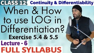 Exercise 5.4 & 5.5 Continuity And Differentiability Class 12 Maths
