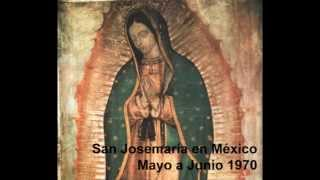 San Josemaría in Messico