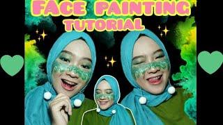 Face Painting Tutorial || LUMER || Face Art Mudah