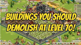 Buildings You Should Demolish at Level 70 in Goodgame Empire