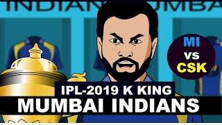 #MIvsCSK - #VIVOIPL2019 - IPL KE KING #MUMBAIINDIANS