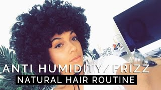 How To Keep Your Natural Curly Hair Humidity Proof Frizz