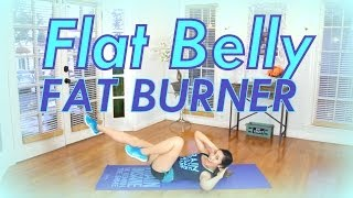 Flat Belly Fat Burner | POP HIIT by blogilates