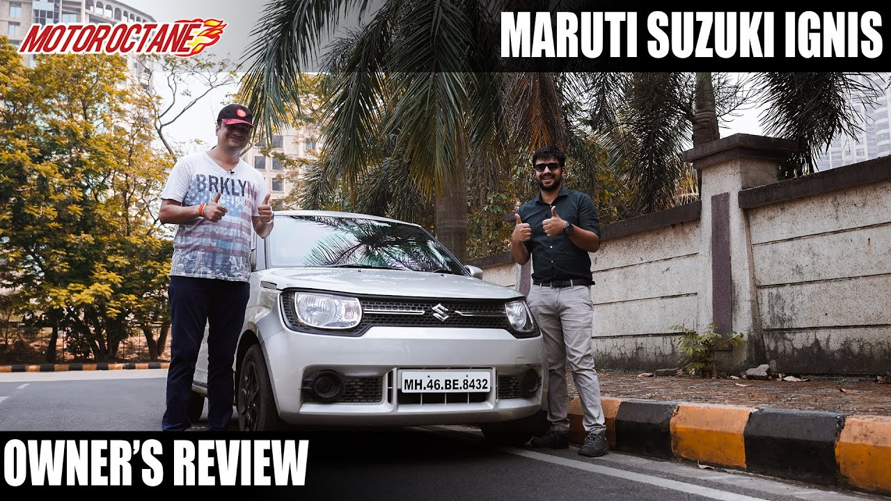 Motoroctane Youtube Video - 40,000km Maruti Ignis Owner's Review - Expensive to Maintain?