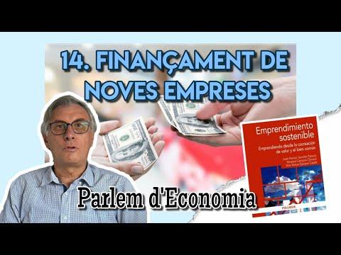 14 - Financiación de nuevas empresas: fuentes tradicionales y microcréditos[;;;][;;;]