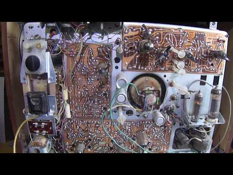 Обзор ретро телевизора Березка-215.часть-1