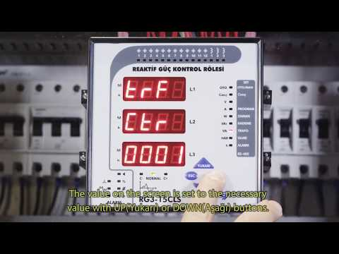 RG3-15 CLS Power Factor Controller Commisioning