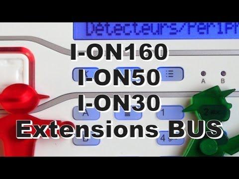 Centrale d'alarme filaire 10 zones extensible à 50 zones