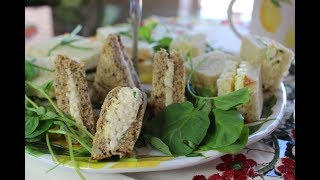 Tea Sandwiches And British Afternoon Tea Etiquette