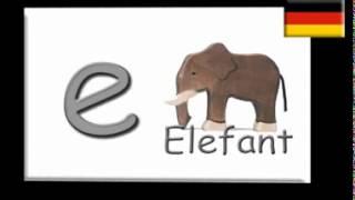 ABC German alphabet Song (Deutsches Alphabet) - YouTube.flv