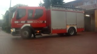 preview picture of video 'JRG 2 Kraków: 302[K]26 GCBA 4/24 Volvo FL280 z placu do garażu'